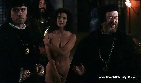 Menina bonita recebe seu videos adultos hentai peludo L. e boca fodida duramente por Pau grande